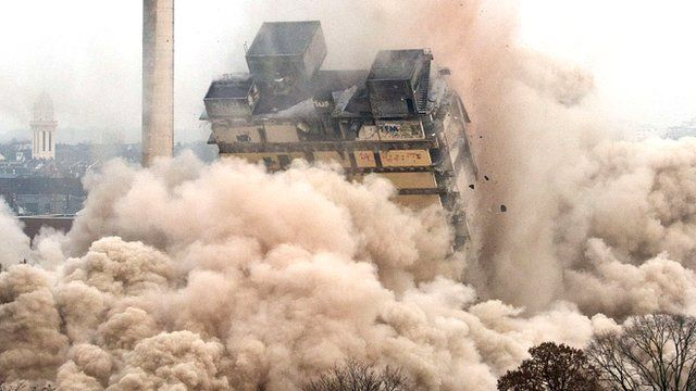 Demolição em São Paulo