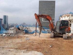 empresa de demolição