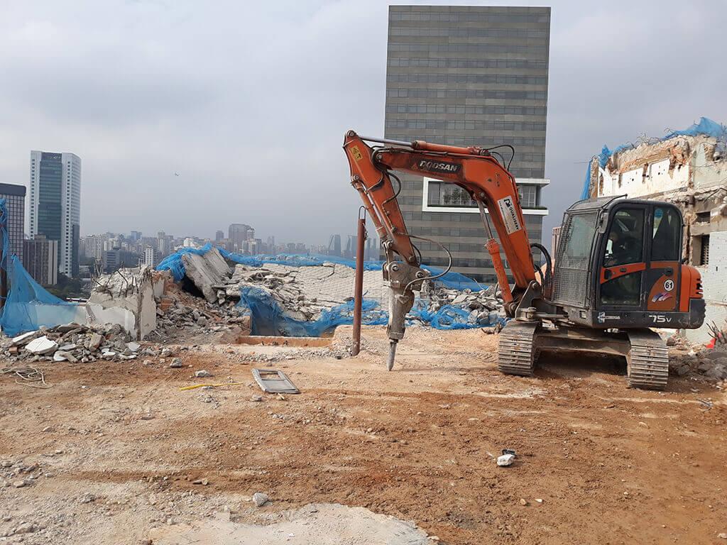 Empresa de Demolição | Somos especialista em Demolições